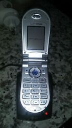 Lg Vx 4500 Flip Cell Phone Verizon Wireless With Car Charger And Home Charger