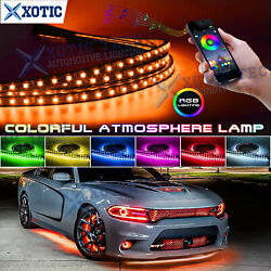 Fit Charger Challenger 1990-21 Rgb Led Under Body Chassis Atmosphere Neon Light