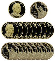 2012 -s Grover Cleveland Presidential Proof Dollar Roll 20 Us Coins 2nd Term