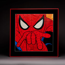 Spider Man Classic Signed Poster Display Stan Lee And Coa
