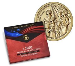 American Innovation 2020 1 Reverse Proof Coin - South Carolina - 20gh