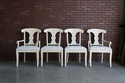 Dining Chairs New Country Regency Dining Chairs By Ethan Allen Set Of 4