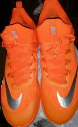 Orange Nike Zoom Shift Basketball Sneakers Silver Logoandnbsp Size 18 New With Tags