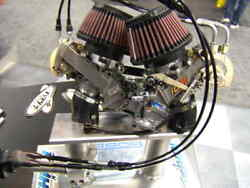 Dual Carburetor Kit For Motorcycle Used Not Working For Parts