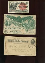 Lot Of 22 1893 World Columbian Expo Chicago Souvenir Post Cards And More Upss