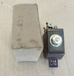 Nos Gm Accessory Fog Light Switch Lite Guide 42 46 47 48 Chevy Dash Ark-les Bomb
