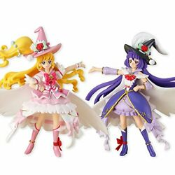 Witch Pretty Cure Cutie Figure + Set Of 2 Andtimes 1 Pcs Candy Toys Bandai