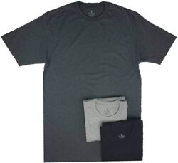Stafford Menandrsquos Tall/extra Tall 100 Heavy Weight Cotton Crew Neck Undershirts B
