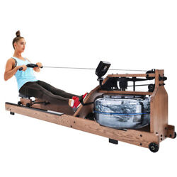 Water Rowing Machine For Home Use Home Gym Indoor Fitness Rower Us Stock