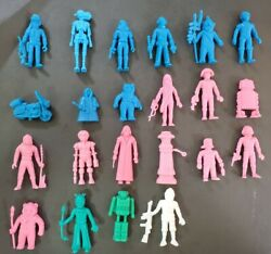 Lot 22 Figures Lfl Star Wars Yupi Colombian Snack Food Vintage 1980 Very Rare