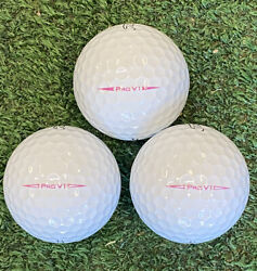 24 Aaa Titleist Pro V1 Pink Play Golf Balls - Free Shipping