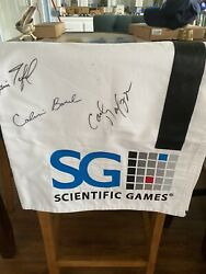 Scientific Sponsored Stake At Churchill Downs Signed By Owner ,trainer ,jocky,