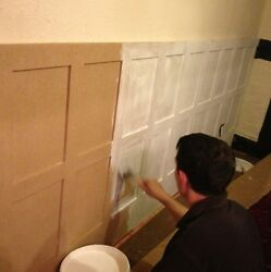 Wall Panelling Moisture Resistant Mdf Elizabethan Panels 2.3m And Made To Order