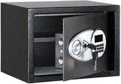 Wall Floor Or Shelf Safe 0.5-cubic-foot Security Safe With Electronic Lock