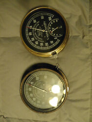 Vintage Abbeon Certified Hygrometer And Temperature Indicator Germany Htab169b