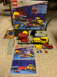 1994 Lego Freight Rail Runner Railroad 4564 W/box And Manual And Minifigs