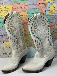 Ships Same Day Vintage Western Cowgirl Boots Rare Collectorandrsquos Item