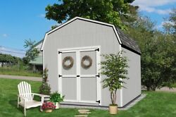 Little Cottage Company Value Gambrel Barn 6' Sidewall In 17 Sizes Opt. Floor Kit
