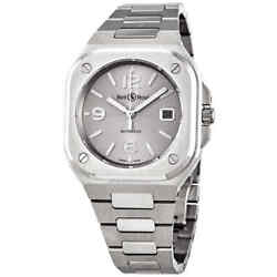 Bell And Ross Br 05 Automatic Silver Dial Menand039s Watch Br05a-gr-st/sst