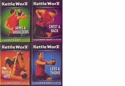 Kettleworx Ultimate Body Collection 4 Dvd Set