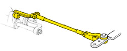 Boat Marine Seastar Tie Bar Kit For Front Mount Single-cylinder Twin-engines
