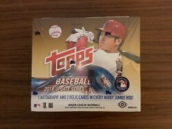 2018 Topps Update Jumbo Box Hta - Soto, Acuna, Ohtani Variation Or Parallel Hot