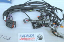 P13a Omc Evinrude Johnson 587163 Wire Harness Oem New Factory Boat Parts