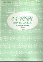 Advanced Technique For Bands Trumpet By Nilo W. Hovey Excellent Condition