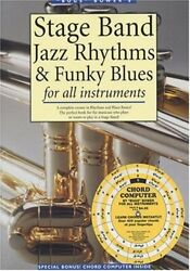 Stage Bands Jazz Rhythms And Funky Blues For All By Bugs Bower Mint Condition