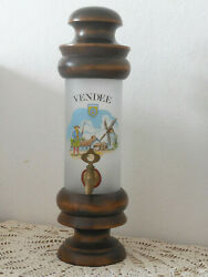 Rare French Vintage Alcohol Absinthe Whisky Fountain Dating 1970and039s - French Bar