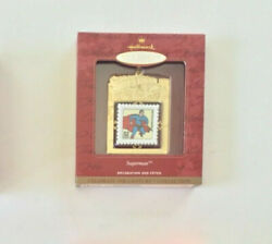 Superman Postage Stamp Century Collection Ornament Us Postal Service