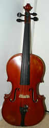 Beautiful Old Violin Labelled Double Stamped G. Fiorini Ready To Play Condition