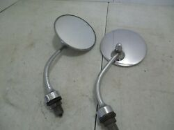 Rolls-royce Bentley Desmo Fender Mirror Used On British Cars From 30's To 60s
