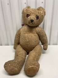 Vintage Growler Working Antique Steiff Teddy Bear 24 Tall Jointed