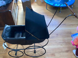 Antique/vintage Victorian Early 1900's Style Baby Doll Buggy/carriage/stroller
