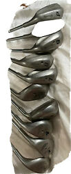 Spalding Cannon Advance Iron Set Right Handed Steel Golf Vintage