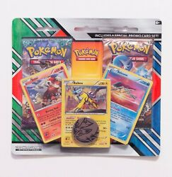 New Sealed Pokemon Legendary Beasts Blister Pack Guardians Rising And Steam Siege