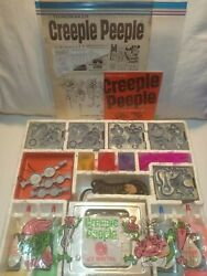 Vintage 1965 Creeple Peeple Mattel Thingmaker With 4 Full Bottles Of Plastigoop