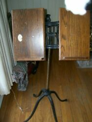 Antique Columbia Dictionary Stand