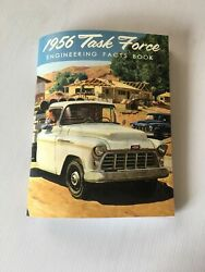 New 1956 Chevy Truck Engineering Facts Book Rare And Full Of Info 56 120 Pages
