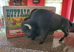 Marx Johnny West Buffalo - Mib 1960s - Excellent Condition Animal Bison Vintage