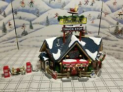 Dept. 56 Long Haul Truck Stop - Lights And Animation 55368 Thank You Truckers