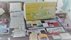 Marx Wards Gas Service Station 3473 - Never Assembled - Decals Never Applied Nos