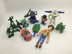 Burger King Toy Story Figure Complete Set Of 6 Figures + Extras Kids Club 1995