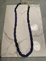 Ancient Russian Blue Trade Beads