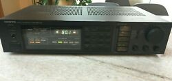 Vintage 80s Onkyo Tx-80 Synthesized Tuner Stereo Amplifier Receiver Tested Japan