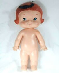1974 Uneeda Campbell's Soup Kid Doll Soft Vinyl Red Hair