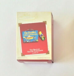 The Beatles Yellow Submarine Mini Lunchbox And Thermos Ornaments Set Of Two
