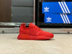 Adidas Nmd R1 Boost Low Top Womens Running Shoes Triple Red Fv7308 New Multi Sz