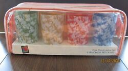 Anchor Hocking Disney Juice Glasses Set Of Four New In Case